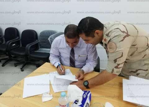 تسليم محطة تحلية مياه البحر بمدينة الطور تمهيدا للبدء في تشغيليها