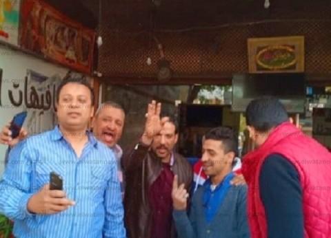 """""""قناوية إمبابة"""" يشاركون في الاستفتاء: """"إحنا صعايدة ومنسبش حقنا"""""""