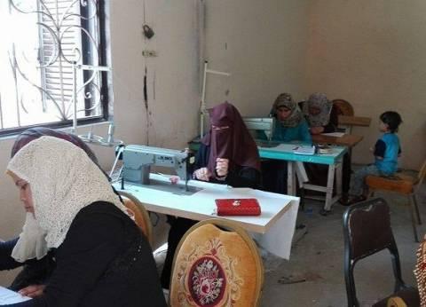"""دورة لتدريب ذوي الاحتياجات الخاصة على """"التفصيل والحياكة """"بمدينة الطور"""