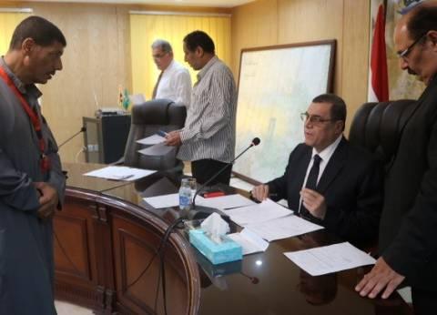 محافظ الفيوم يكلف مسؤولي الري بشن حملات إزالة للتعديات على بحر الجرجبة