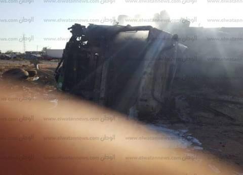 بالأسماء| ارتفاع عدد الوفيات في حادث تصادم 4 سيارات بجنوب سيناء إلى 7