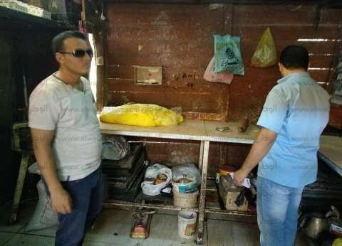 """""""صحة بني سويف"""" تحرر 13 محضرا لمحال حلويات بمركز إهناسيا"""