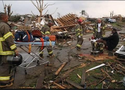 مقتل وإصابة العشرات في عواصف تجتاح أمريكا