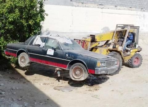 رفع 35 سيارة ودراجة نارية من الشوارع والطرق الرئيسية بالقاهرة