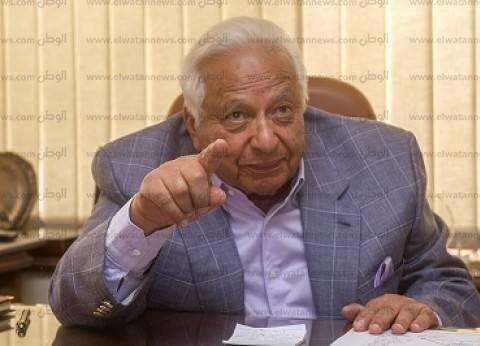 جامعة عين شمس تمنح أحمد عكاشة الدكتوراه الفخرية
