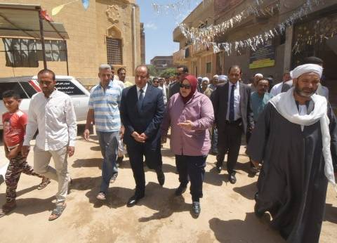 محافظ الإسكندرية يفتتح مجمع خدمات قرية أبيس 1-8 السلام بنطاق حي وسط
