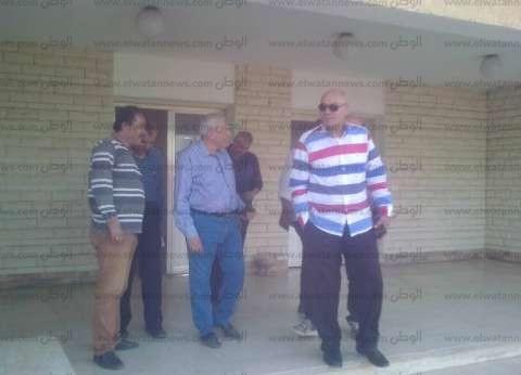 رئيس مدينة المحلة يتفقد مصنع تدوير القمامة