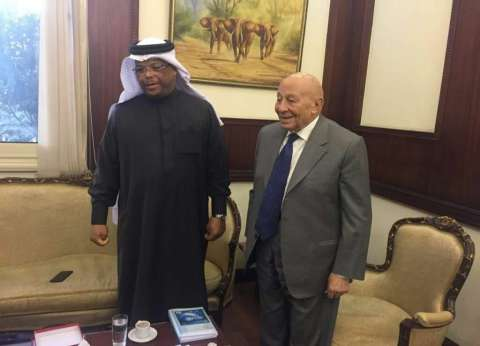 """""""فايق"""" يستقبل رئيس """"حقوق إنسان النواب"""" البحريني"""