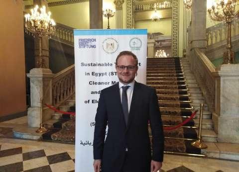 """""""ريتشارد بروبست"""": السيارات الكهربائية مستقبل النقل في مصر والعالم"""