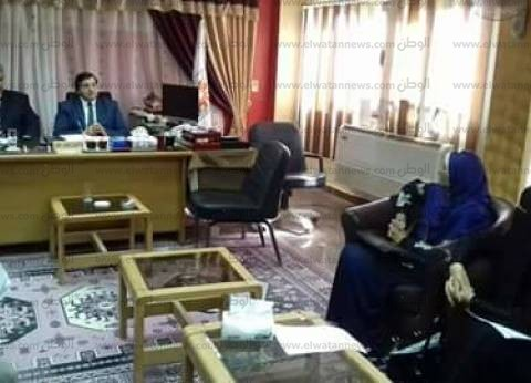 """وكيل """"تعليم جنوب سيناء"""" يطالب الإدارات التعليمية بالتعاون وبذل مزيد من الجهد"""
