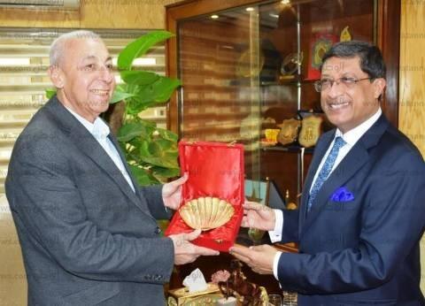 محافظ أسوان للسفير الهندي: تربط البلدين علاقات قوية منذ الخمسينات