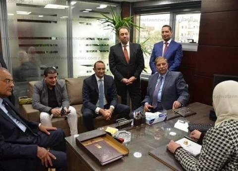 محافظ الإسماعيلية يشهد افتتاح أول فرع للبنك المصري لتنمية الصادرات