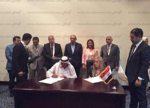 بالصور| محافظ جنوب سيناء يوقع 3 بروتوكولات تعاون لتجديد البنية التحتية بمدينة دهب