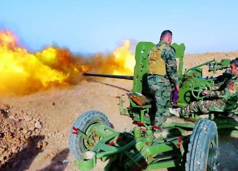 """صواريخ """"كاليبر"""" تستهدف """"داعش"""" في الميادين السورية"""