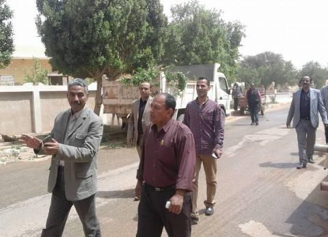 """""""مركز الداخلة"""" ينفذ حملة نظافة موسعة وشاملة بمدينة موط"""