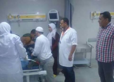 """فريق من """"صحة دمياط"""" يتفقد مستشفى كفر البطيخ"""