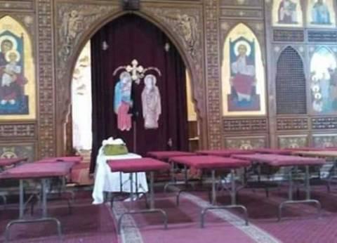 سكرتير محافظة الأقصر ورئيس المدينة يقدمان واجب العزاء في ضحايا الكنيسة البطرسية