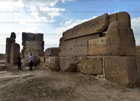 صان الحجر.. غابة المسلات والأسوار الأثرية