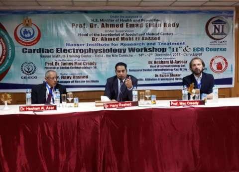 معهد ناصر يستقبل خبيرا إنجليزيا لتدريب ورفع كفاءة الأطباء