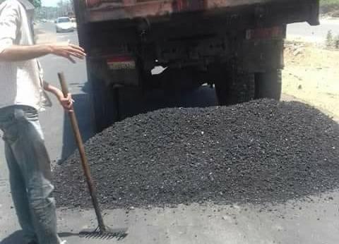 محافظ دمياط يأمر بوضع مطبات صناعية بطول طريق فاروق شوشة