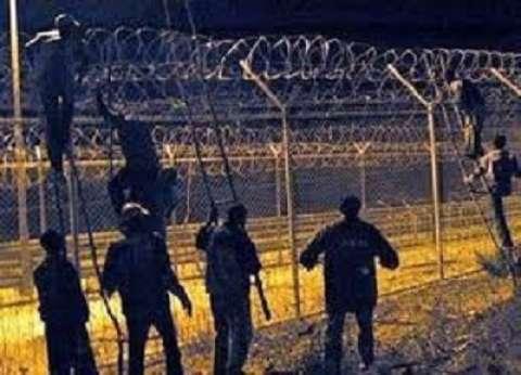المغرب يحبط محاولة 400 مهاجر إفريقي اقتحام مدينة سبتة