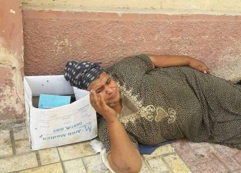 """""""التدخل السريع"""" ينقذ """"فاطمة"""" من الشارع وينقلها لدار رعاية بالإسكندرية"""