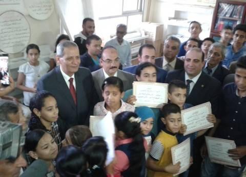 وزير التربية والتعليم في زيارة لسيناء