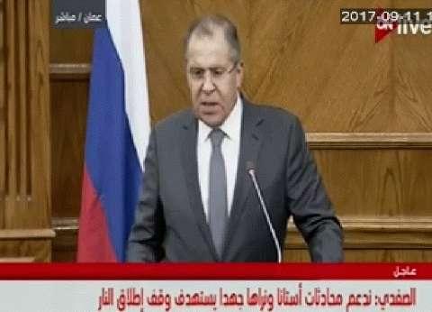 لافروف: السعودية تلعب دورا إيجابيا لتوحيد المعارضة السورية