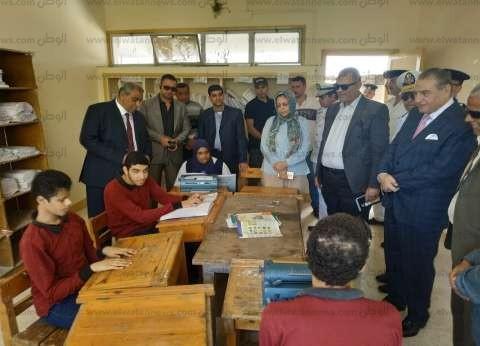 طلاب الثانوية العامة المكفوفين يواصلون أداء امتحان اللغة العربية