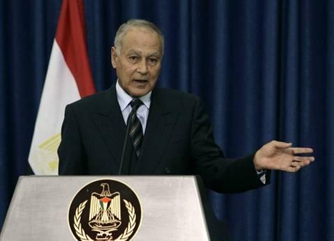 """أبو الغيط: تقرير الجامعة العربية عن الانتخابات المصرية """"إيجابي"""""""