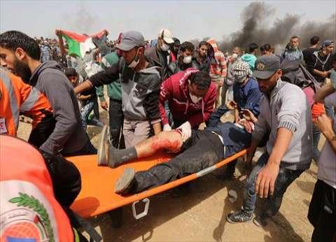 إصابة 968 فلسطينا في المواجهات على طول الحدود الشرقية لقطاع غزة