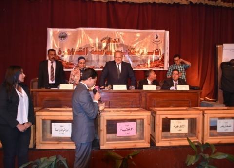 بالصور| انتهاء المرحلة الأخيرة من انتخابات اتحاد طلاب جامعة القاهرة