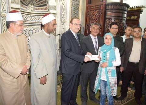 """محافظ بني سويف يكرم 60 من حفظة القرآن الكريم والأئمة في """"ليلة القدر"""""""