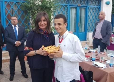 """وزيرة الهجرة في حفل إفطار جمعية """"أولادنا"""" لذوي القدرات الخاصة"""