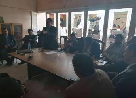 انتظام العمل في محاكم المنيا بعد تعليق إضراب المحامين