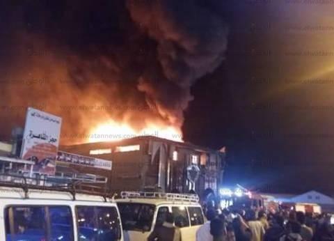 مصرع ربة منزل وإصابة 3 من أسرتها إثر انفجار اسطوانة بوتاجاز بملوي
