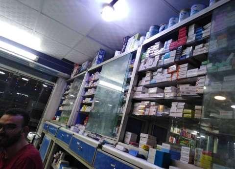 ضبط صيدلية تزاول نشاطها رغم إلغاء رخصتها في المنيا