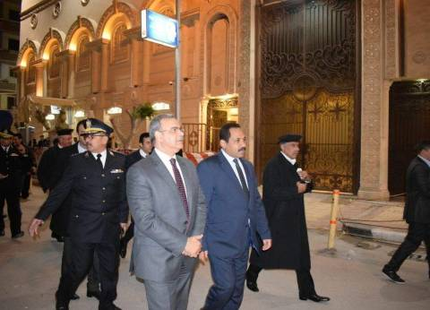 مدير أمن إسكندرية: تأكدنا من خروج المصليين بشكل آمن بعد انتهاء القداس