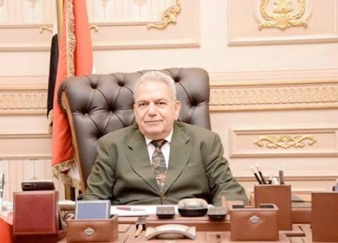 """رئيس """"القضاء الأعلى"""" يعد السيسي بتحقيق العدالة الناجزة"""