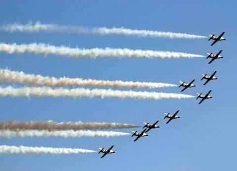 عروض جوية في سماء المنيا احتفالا بذكرى «نصر أكتوبر»