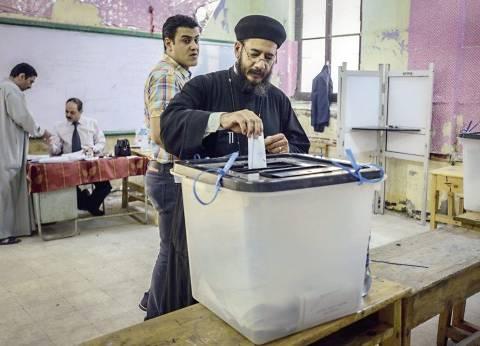 تزايد إقبال الناخبين بلجان بني سويف قبل ساعتين من غلق باب الاقتراع