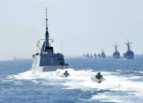 """البحرية """"المصرية والأمريكية والإماراتية"""" تنفذ تدريب """"تحية النسر 2016"""""""