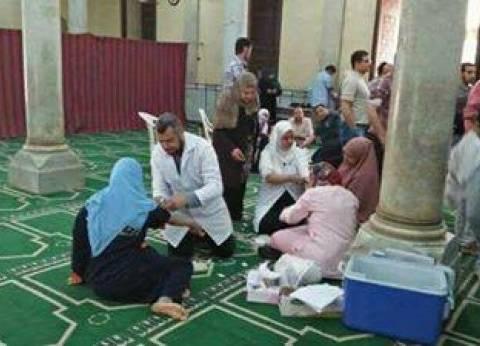 مساجد الإسكندرية تفتح أبوابها للتبرع بالدم لمصابي الكاتدرائية