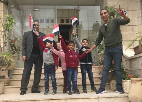 """ناخب مصري في فلسطين لـ""""الوطن"""": شاركت مع عائلتي لإسكات المقاطعة النشاذ"""