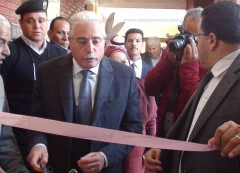 محافظ جنوب سيناء يفتتح صالة جيمانزيوم بالمدرسة الفكرية بطور سيناء