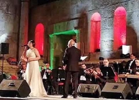 """""""أوبرا الإسكندرية"""" تبهر جمهور جرش في الأردن بأغانيها التراثية"""