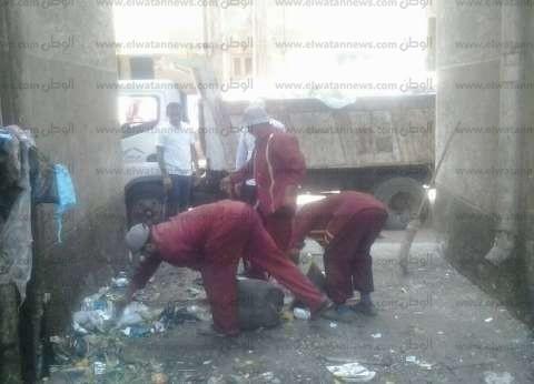 بالصور| رئيس مدينة دسوق يطالب بتكثيف حملات النظافة وسرعة رفع المخلفات