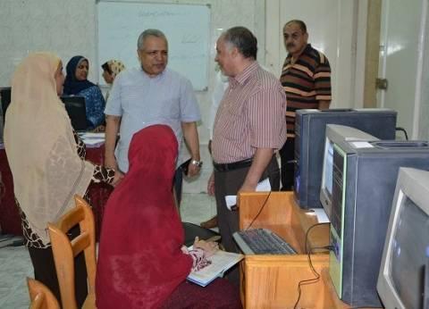 معامل جامعة الفيوم تستقبل 468 من طلاب المرحلة الثانية بتنسيق الجامعات