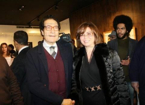 بالصور| نجوم الفن والمجتمع في افتتاح معرض فاروق حسني