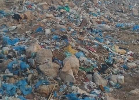 """""""المصريين الأحرار"""" بمطروح يطهر المقابر من القمامة"""